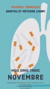 Sevrage tabagique : Shiatsu et méthode Chiapi à Marseille