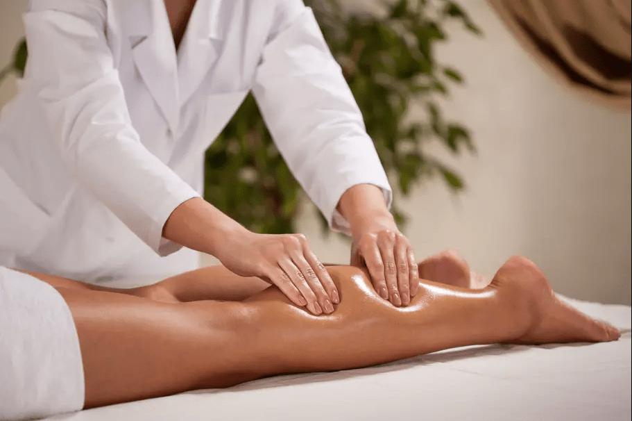 Massage décongestionnement et préventif de jambes
